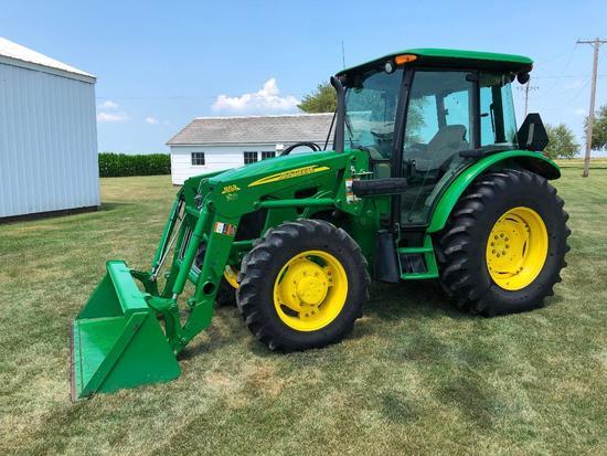 2010 John Deere 5105M MFWD tractor