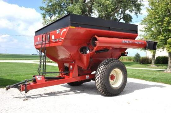 Brent 678 grain cart
