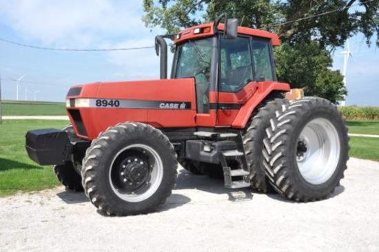 1997 Case IH 8940 MFWD tractor