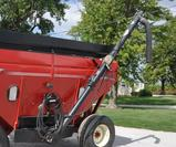 Unverferth 14' hyd. drive seed auger