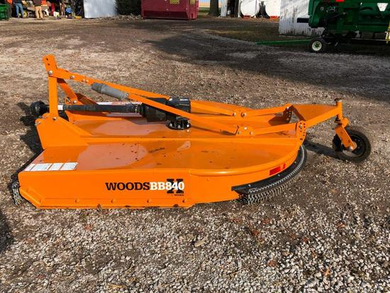 2017 Woods BB840X 7' 3-pt. mower