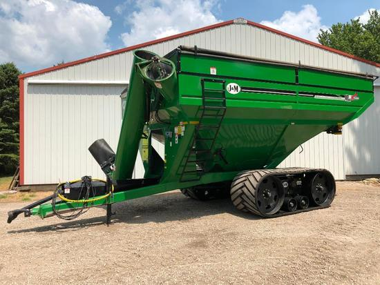 2016 J&M 1010 grain cart