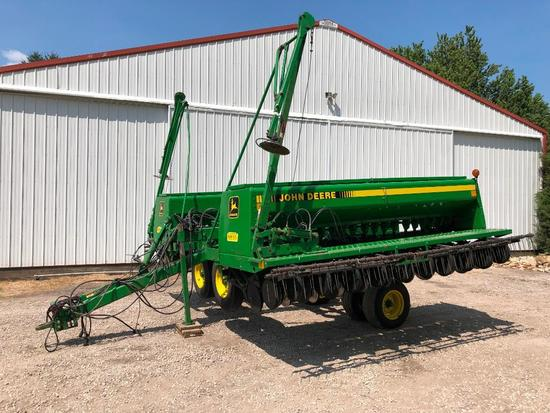 1995 John Deere 455 25' grain drill