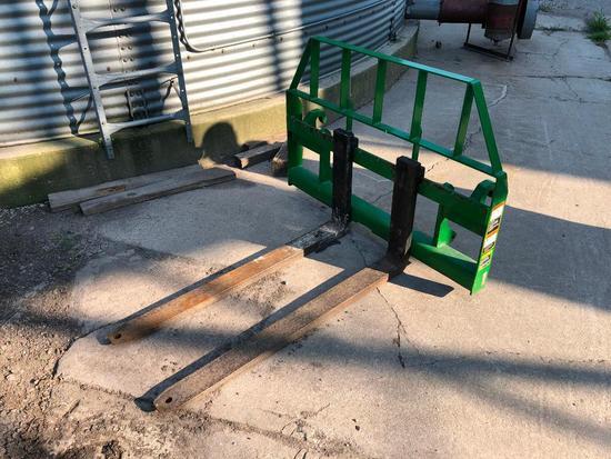 Frontier loader pallet forks
