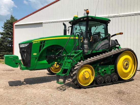 2013 John Deere 8335RT track tractor