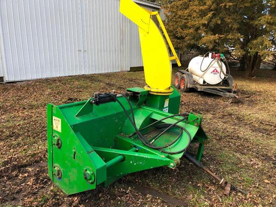 Servis Snow Machine 8' 3-pt. snow blower