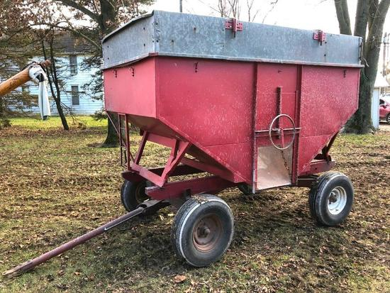 200 bu. gravity wagon on Stanhoist running gear