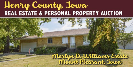 Henry County, Iowa Personal Property Auction