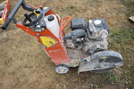 2015 Husqvarna FS 400 LV walk behind concrete saw