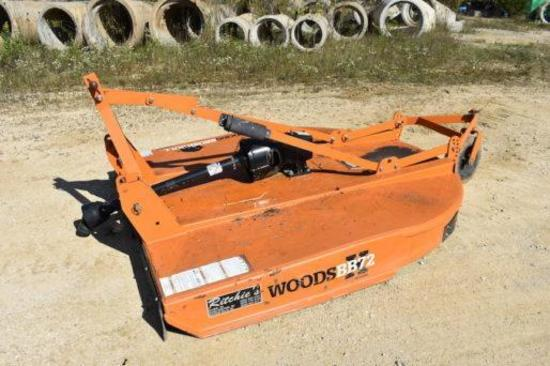 Woods BB72X 6' 3-pt. rotary cutter