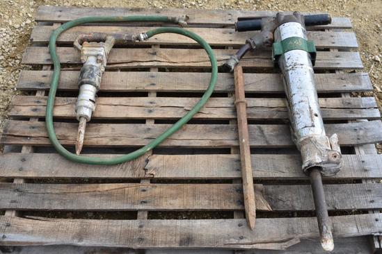 (2) Sullair jackhammers