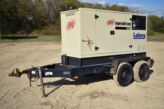 2001 Ingersol Rand G115 mobile generator