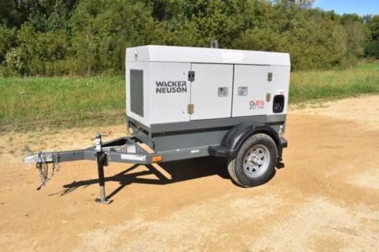Wacker Neuson G-25 20 kw mobile generator
