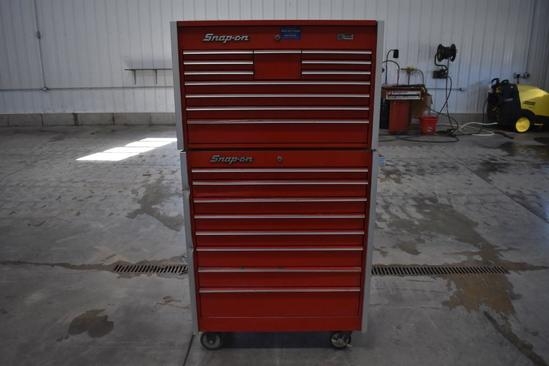 Snap-On 29-drawer rolling tool box
