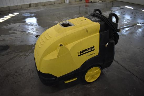 Karcher Professional HDS hot water pressure washer