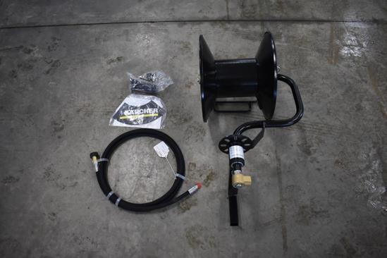 Karcher 100' rotary hose reel