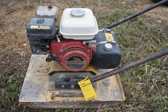 Wacker VPG160A compactor