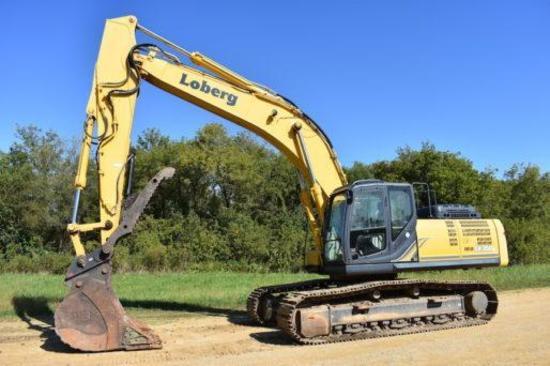 2015 Kobelco SK 350LC-9E excavator