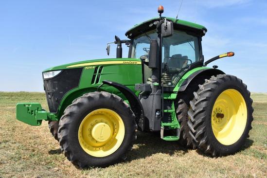 2014 John Deere 7270R MFWD tractor