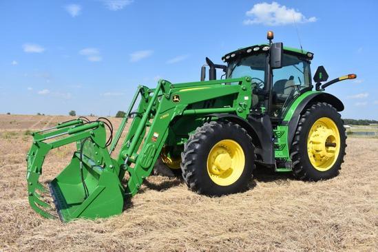 2017 John Deere 6175R MFWD tractor