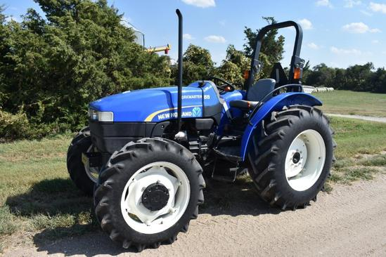 2014 New Holland Workmaster 55 MFWD tractor