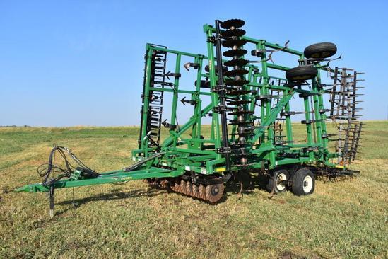 Great Plains 8328 Disc-O-Vator Series VIII 30' soil finisher