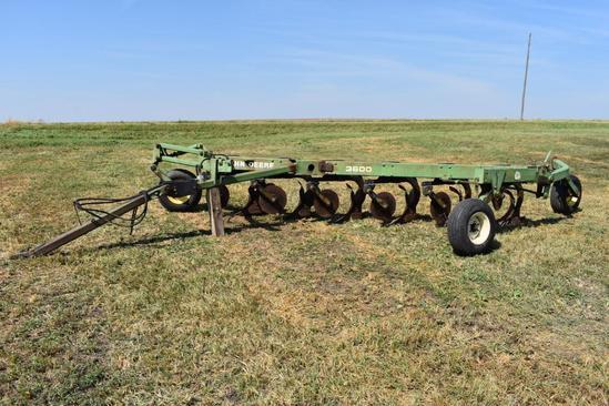 John Deere 3600 6 bottom plow