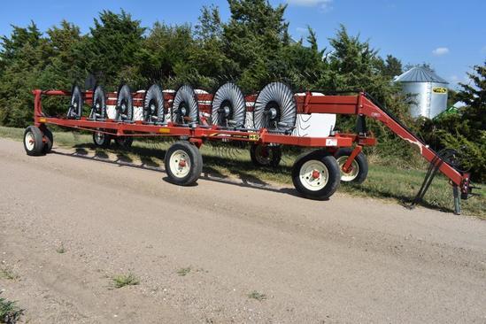 H&S 1460 Hi-Capacity 14-wheel hay rake