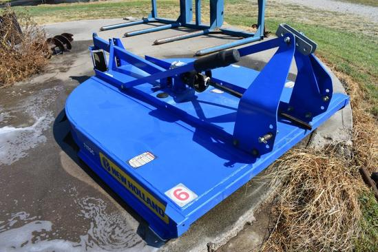 New Holland 717GC 6' 3-pt. rotary cutter
