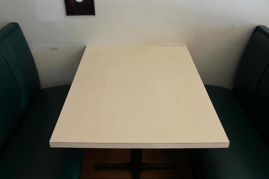 "42"" x 30"" restaurant table"