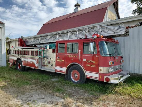 1973 Pierce Arrow SR-24768 Fire Truck