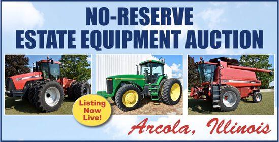 No Reserve Estate Equipment Auction