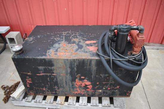 150 gal. fuel transfer tank with pump