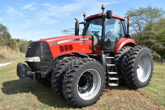 2009 Case IH Magnum 305 MFWD tractor