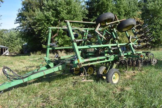 John Deere 550 18' mulch master field finisher