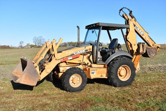 Case 580 Super M Series 2 backhoe