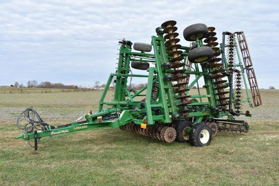 Great Plains 3000TM Turbo Max 30' vertical tillage tool
