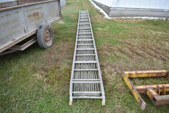 "24'x20"" aluminum plank"