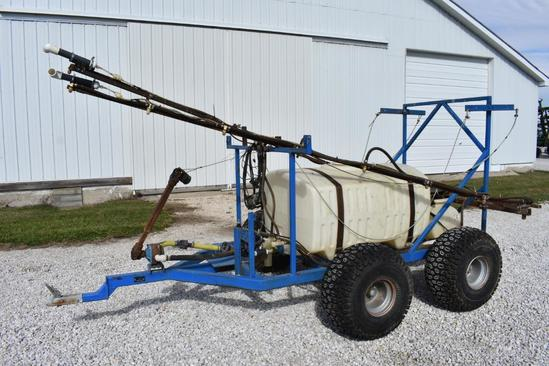 150 gal. pull-type sprayer
