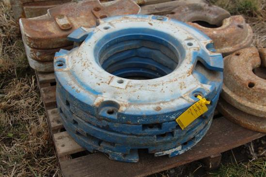(5) Ford rear wheel weights