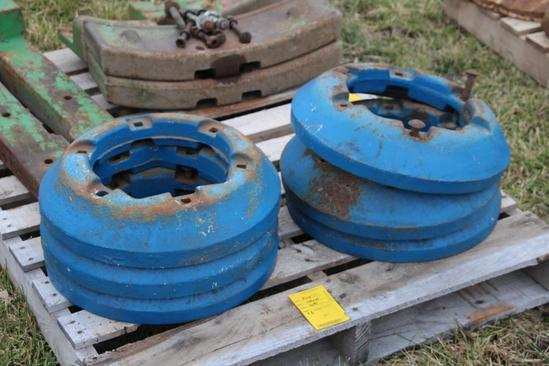 (6) Ford wheel weights