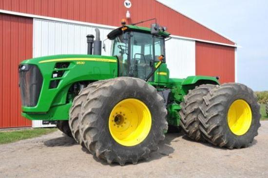 2008 John Deere 9530 4WD tractor