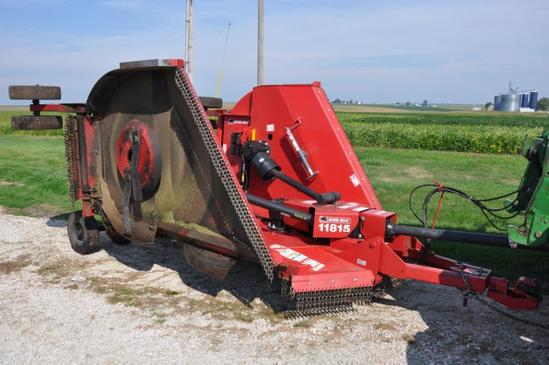 '16 Bush Hog 11815 15' batwing mower