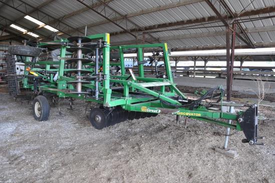 Great Plains 14' Disc-O-Vator soil finisher