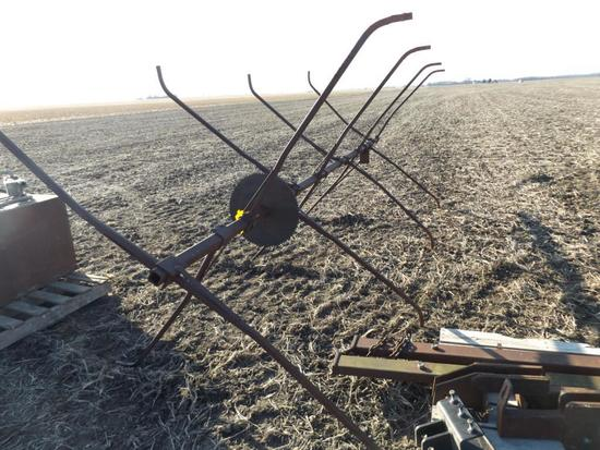 Kelderman 6-row corn reel