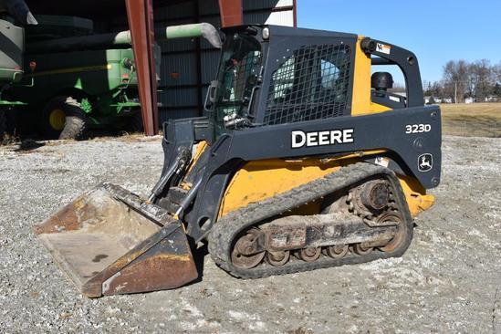 2012 John Deere CT323D compact track loader