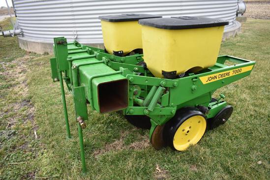 "John Deere John Deere 7000 3-pt. 2 row 30"" planter"