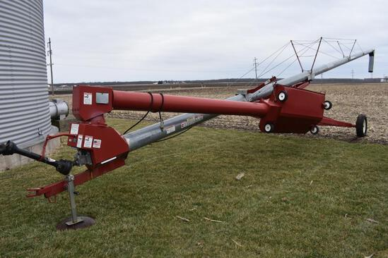 "Hutchinson 10""x62' swing away auger"