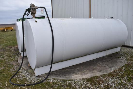 2,500 gal. fuel tank