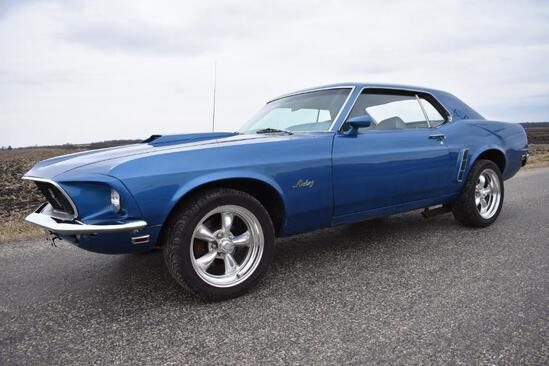 1969 Ford Mustang Coupe 302 V8 eng.
